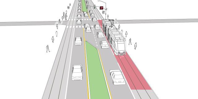Virtual Transit Lane