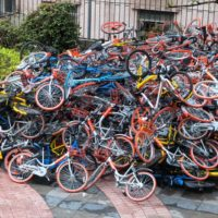 Rogue Bike Share Providers Raise Concerns For Cities