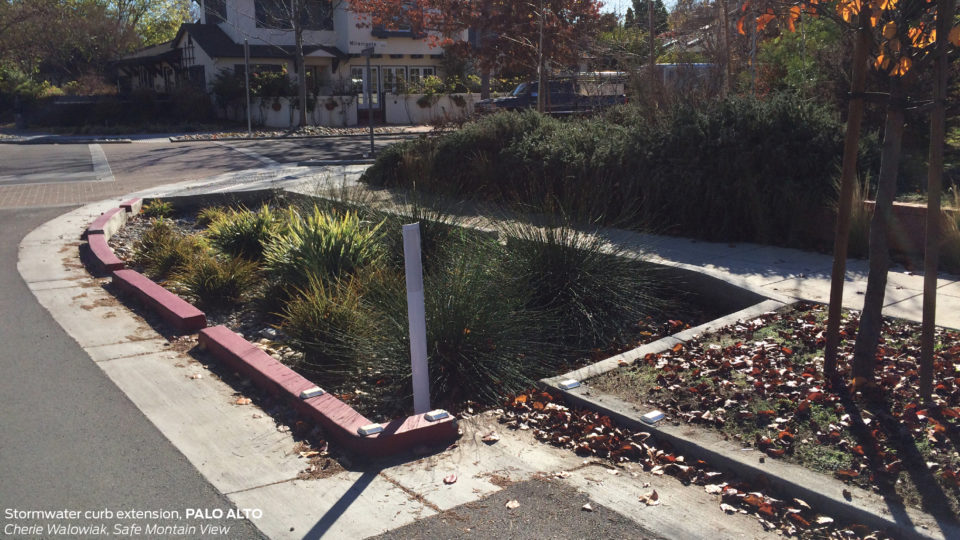 Stormwater Curb Extension National Association Of City