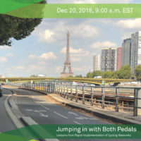 GDCI Webinar – Jumping in with Both Pedals: Lessons from Rapid Implementation of Cycling Networks