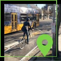Bellevue's Downtown Demonstration Bikeway