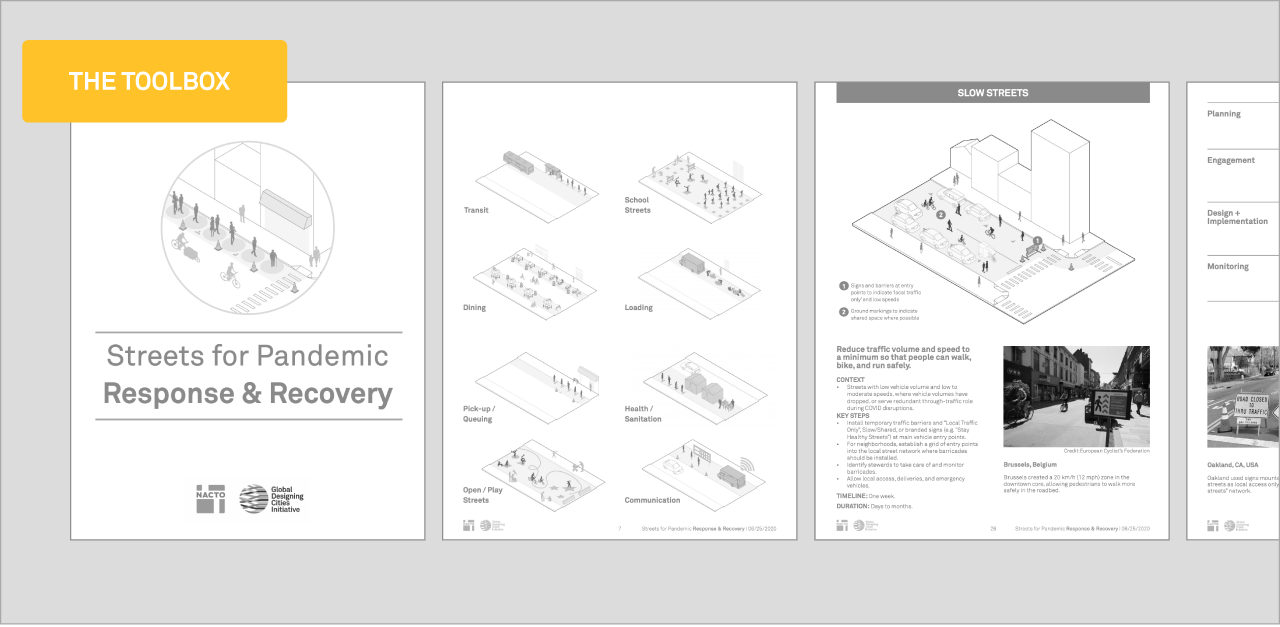 Link to Streets for Pandemic Response and Recovery publication page