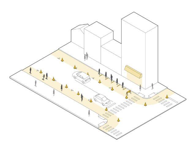 Sidewalk Extensions