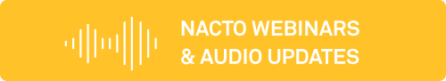 Link to Transportation Response Center NACTO webinars & audio updates