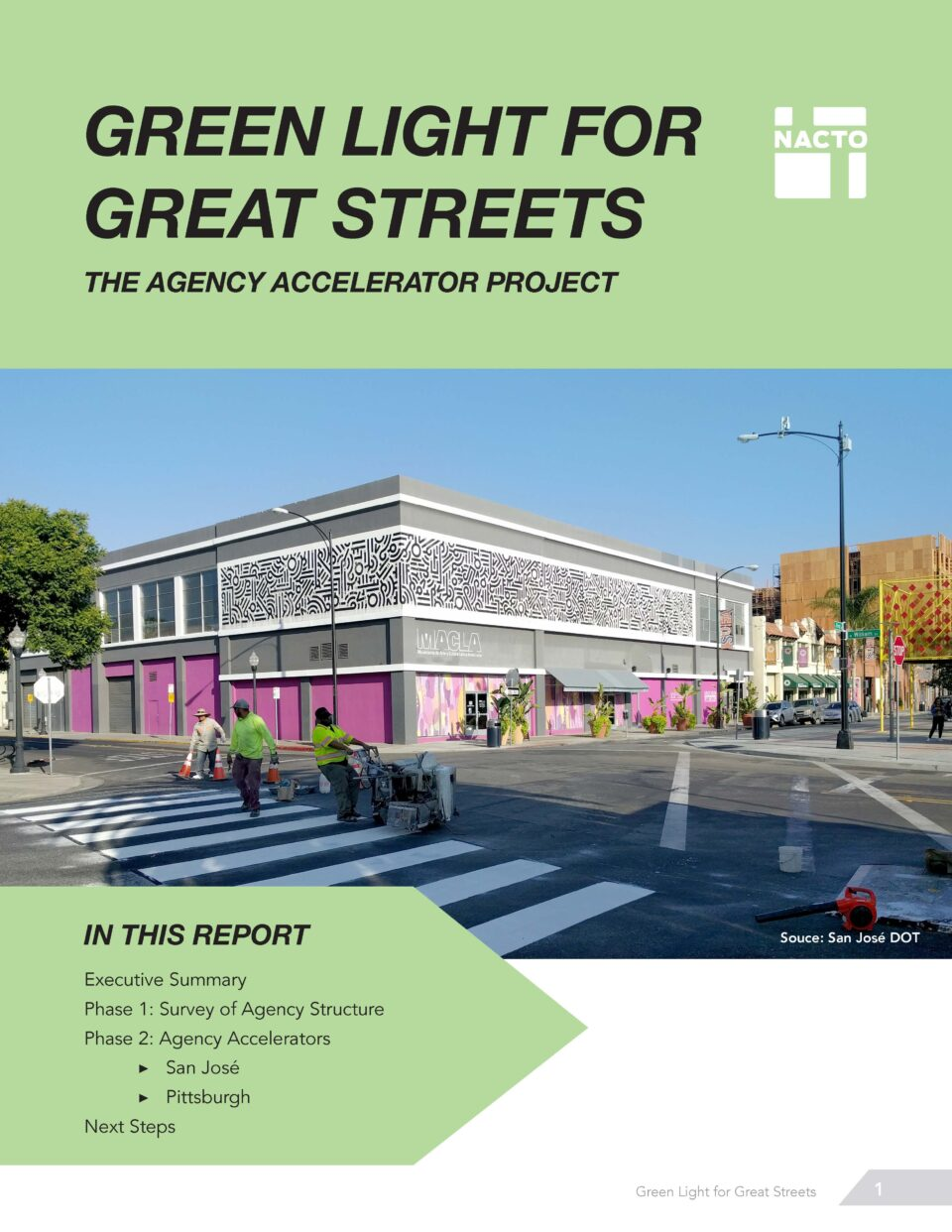 Green Light for Great Streets Index