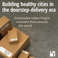 Online shopping boom fuels need for new urban freight strategies