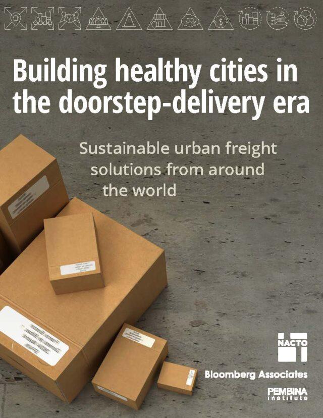Building healthy cities in the doorstep-delivery era