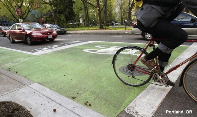Bike Box - Portland, OR