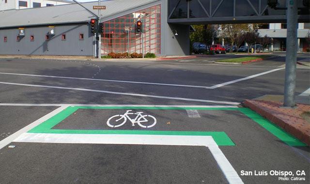 Bike Box - San Luis Obispo, CAPhoto: Caltrans