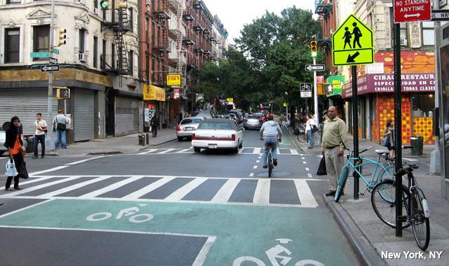 Bike Box - New York City, NY