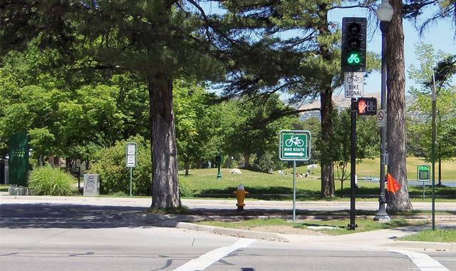 Bicycle Signal - Salt Lake City, UT