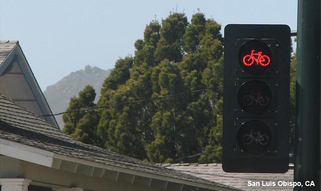 Bicycle Signal - San Luis Obispo, CA