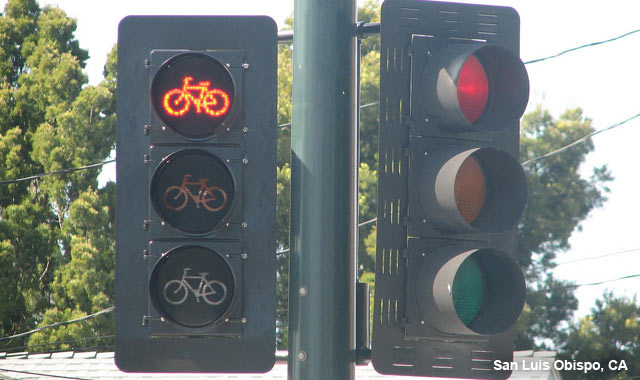 Bicycle Signal - San Luis Obispo, CA