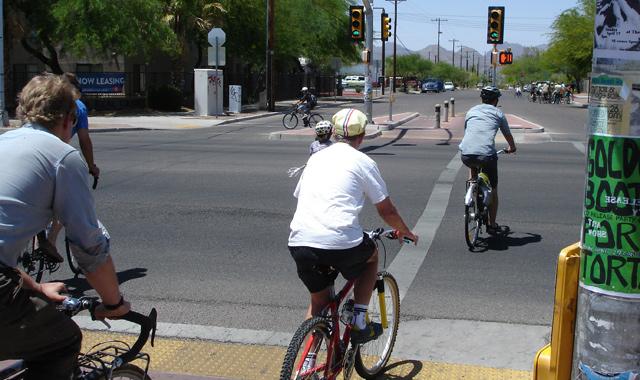 Bicycle Signal - Tucson, AZ