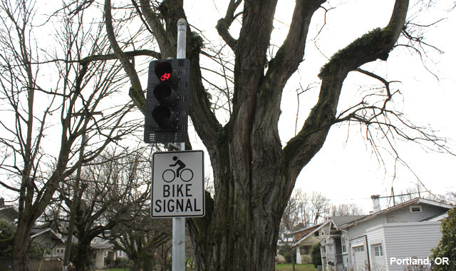 Bicycle Signal - Portland, OR