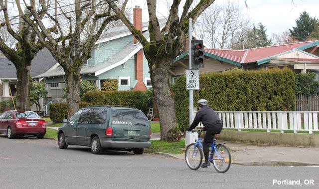 Bicycle Signal - Portland, OR