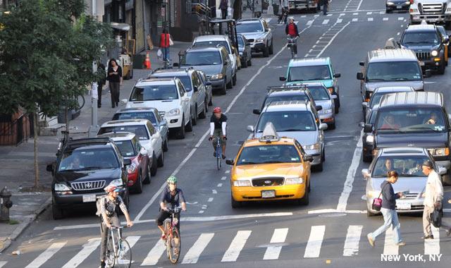 Buffered Bike Lane - New York City, NY