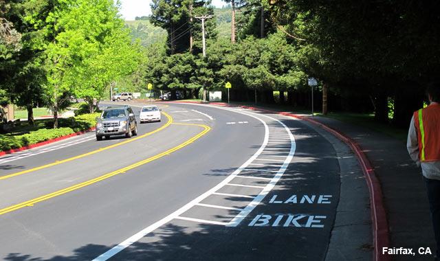buffered bike lanes national association of city transportation