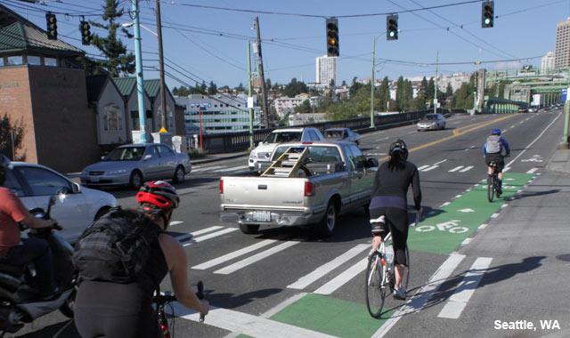 Colored Conflict Area - Seattle, WA