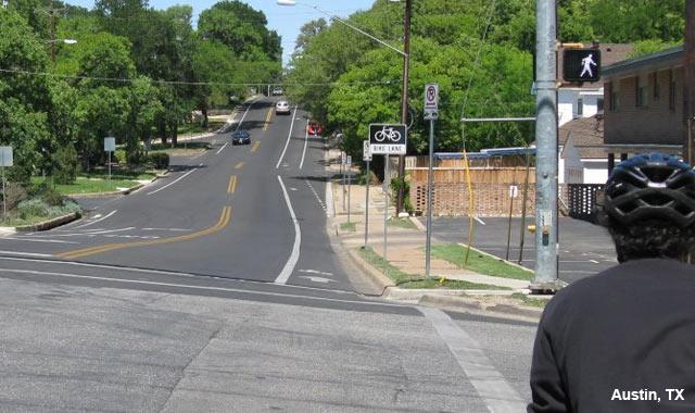 Bike Lane - Austin, TX