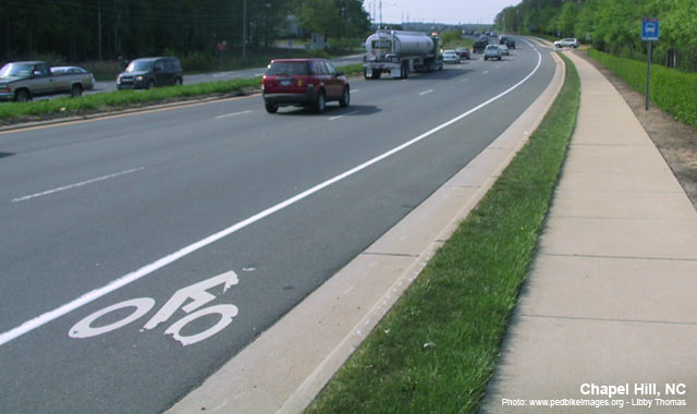 Conventional Bike Lanes National Association Of City