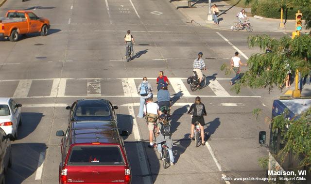 Bike Lane - Madison, WI