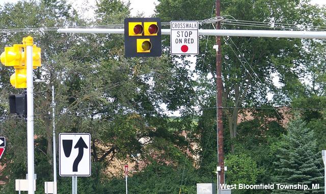 Hybrid Beacon for Bike Route Crossing of Major Street ...