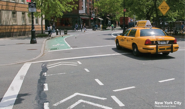 Intersection Crossing Markings - New York City, NYPhoto: Richard Drdul