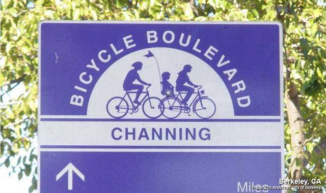 Wayfinding Signs - Berkeley, CAPhoto: Eric Anderson, City of Berkeley