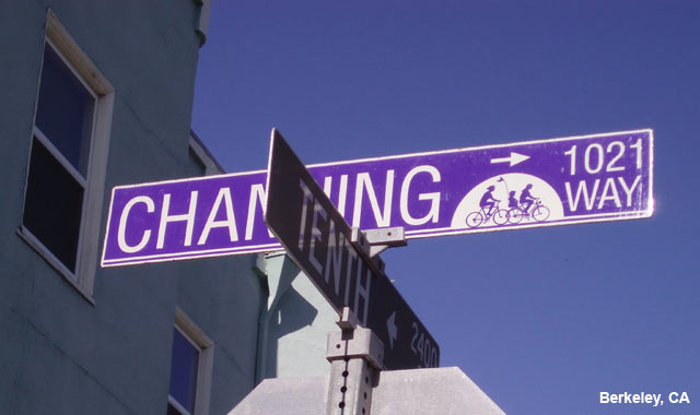 Wayfinding Signs - Berkeley, CA