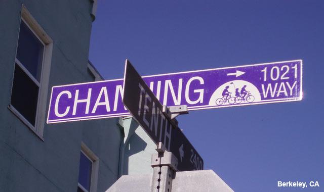 Wayfinding Signs - Berkeley, CA