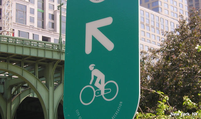 Wayfinding Signs - New York City, NY