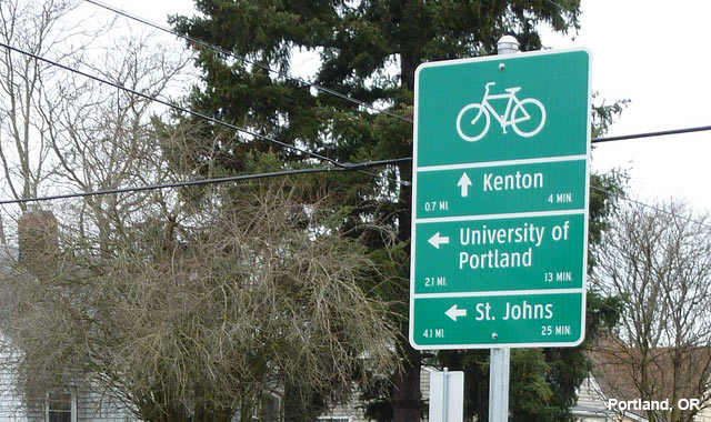 Wayfinding Signs - Portland, OR