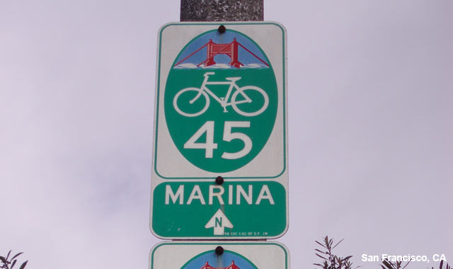Wayfinding Signs - San Francisco, CA