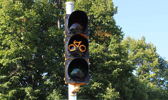 Bicycle Signal - Madison, WI