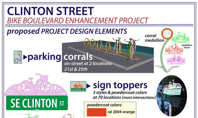 Bicycle boulevard improvements - Portland, OR