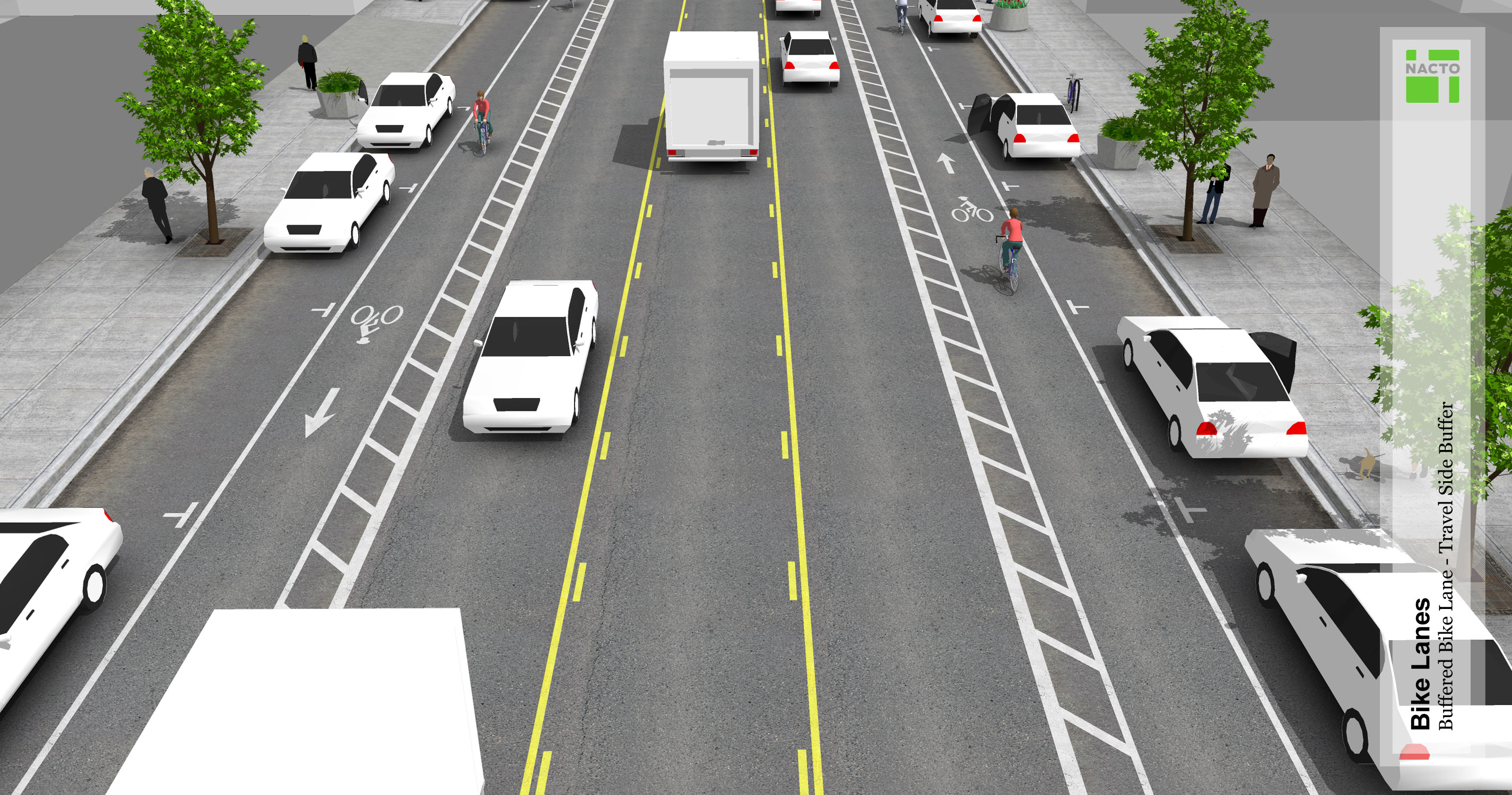 benefit bicycle lanes Complete streets benefit entire communities by addressing the needs of all road  home » services » benefits of complete streets  bicycle lanes, tracks.