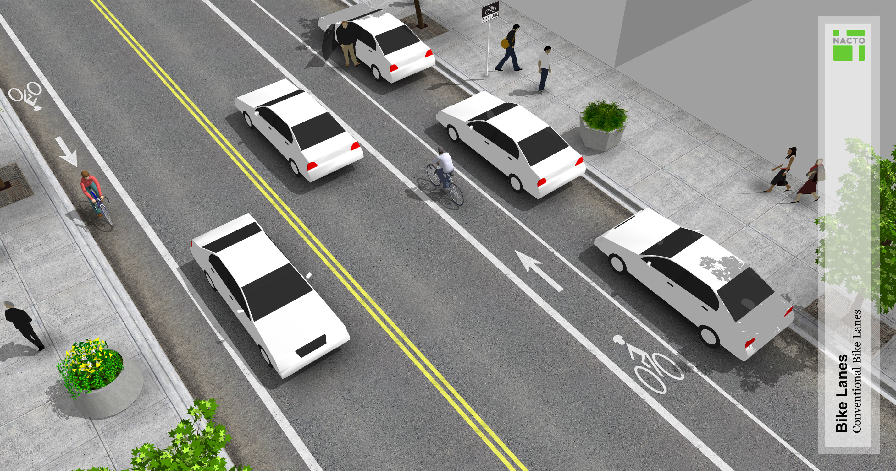 Conventional Bike Lanes - National Association of City ...