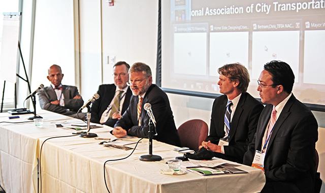 Former USDOT Under Secretary Roy Kienitz presents on innovative financing in transportation.